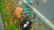 Ranni rowerzysta i motocyklista