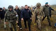 Prezydent Andrzej Duda spotkał się z żołnierzami podczas największych ćwiczeń Wojska Polskiego