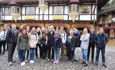 Gościli u niemieckich kolegów w Nienburgu