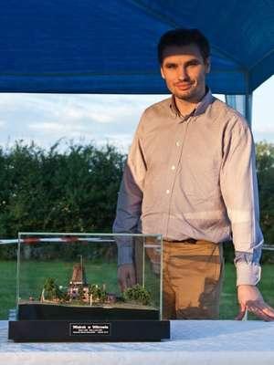 Marcin Hołowiński o wiatraku i jego historii dowiedział się od znajomych pochodzących z Wikrowa podczas studiów na Politechnice Gdańskiej