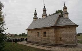 Cerkiew z Podkarpacia stanęła pod Elblągiem