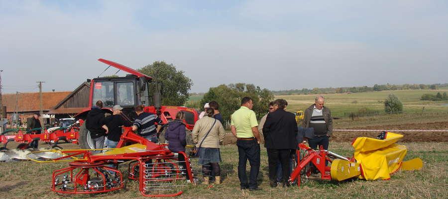 Niedzielną imprezę w Karolewie odwiedzili rolnicy z powiatów kętrzyńskiego, piskiego, giżyckiego, ełckiego, mrągowskiego