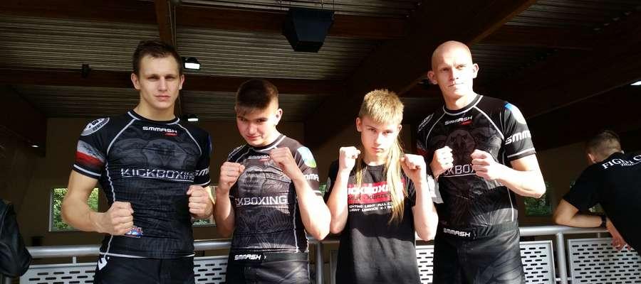Od lewej: Piotr Kołakowski, Paweł Kendziorski, Paweł Szreder i Damian Chiliński