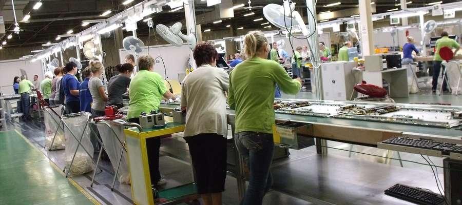 Największym przedsiębiorstwem w Mławie i zatrudniającym najwięcej osób od lat pozostaje LG Electronics