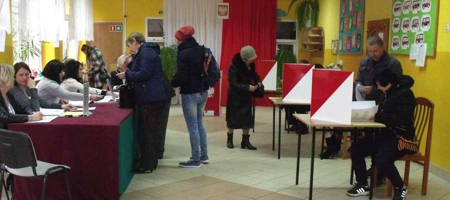 Głosowanie na osiedlu Andersa