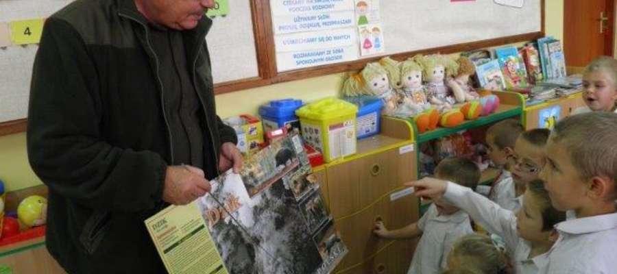Podczas działań w szkole w Tereszewie zmierzających do uzyskania certyfikatu