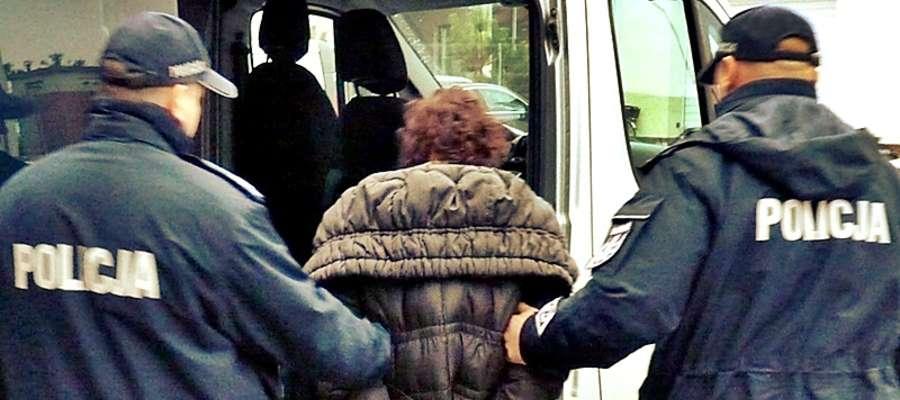 54-latka została aresztowana na trzy miesiące