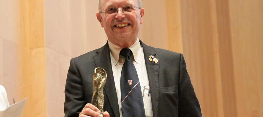 Bawarczyk Erwin Vollerthun otrzymał tytuł Filantropa Roku 2014