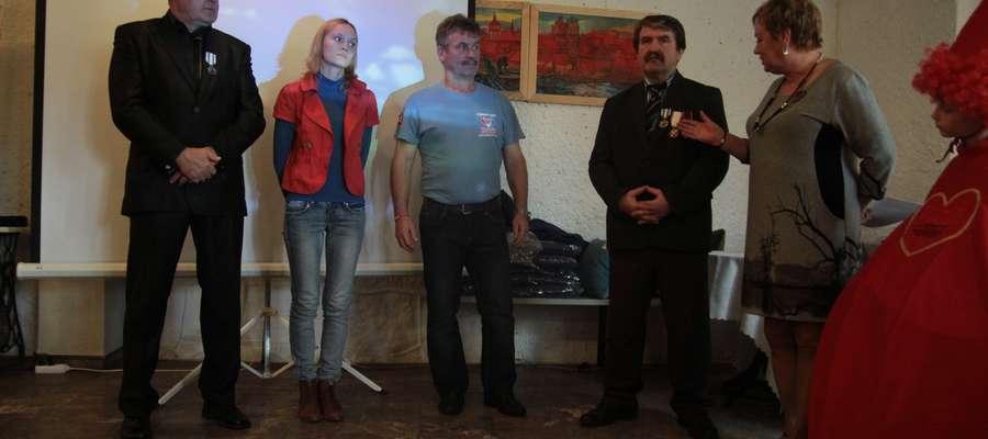 Spotkanie w Bartoszyckim Domu Kultury było okazją do podziękowania osobom udzielającym się w Rubinie