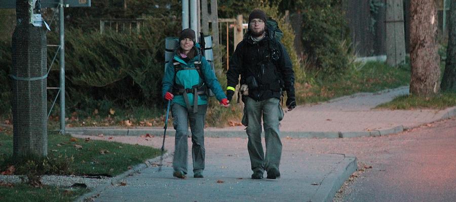 Podróżnicy wieczorem 7 października dotarli do Bisztynka.