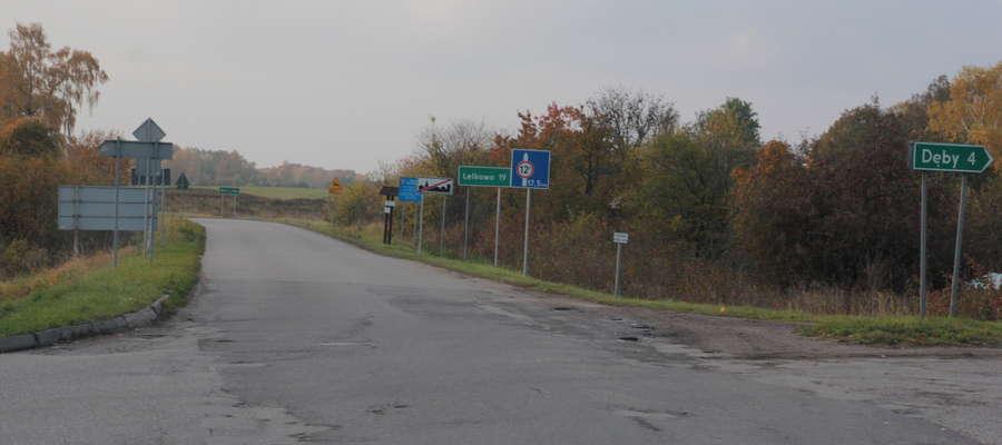 Według czytelnika już w tym miejscu powinien stać znak informujący o zamknięciu drogi przez Skarbiec.