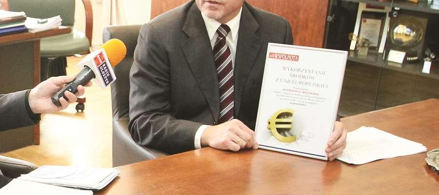 Wicemarszałek województwa Jacek Protas przedstawił ranking podsumowujący wydatki samorządów ze środków europejskich