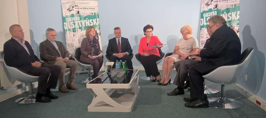 debata, Olsztyńska TV