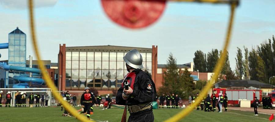 Niedziela na płońskim stadionie należała do strażaków-ochotników