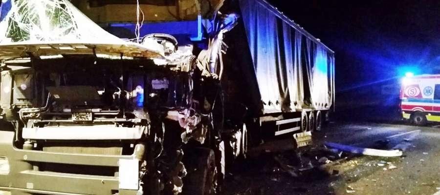 Do tragicznego w skutkach wypadku doszło na trasie relacji Nowy Dwór Mazowiecki - Wyszogród