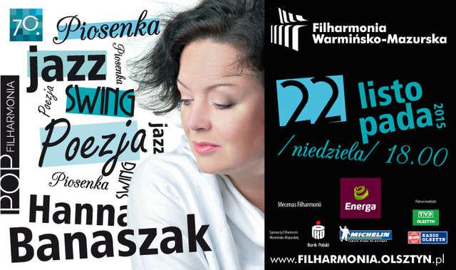 Koncert Hanny Banaszak w olsztyńskiej filharmonii - full image