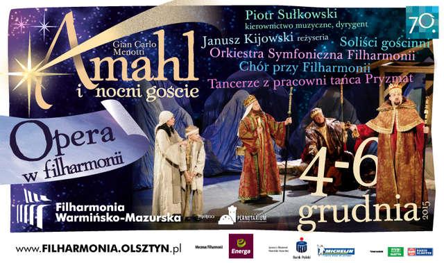 Amahl i nocni goście w olsztyńskiej filharmonii - full image