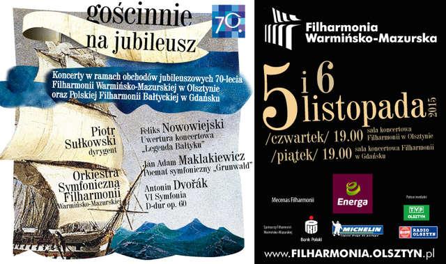 Koncert filharmoników warmińsko-mazurskich w Olsztynie i Gdańsku - full image