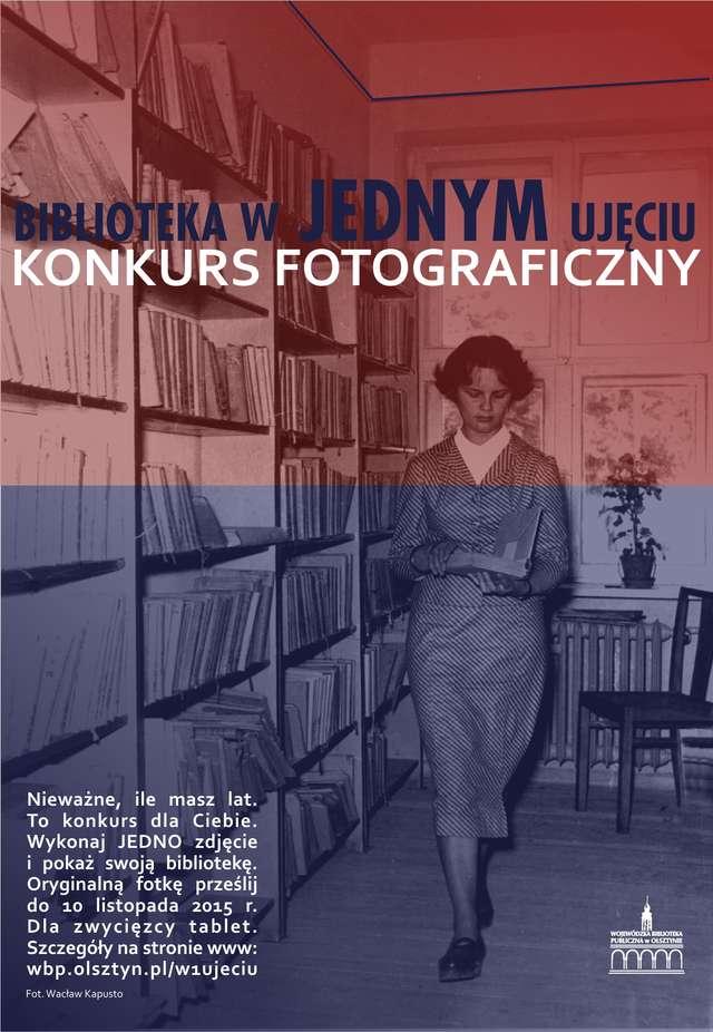 Biblioteka w jednym ujęciu — konkurs fotograficzny - full image