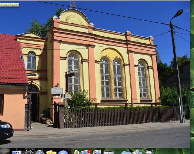 Dawna synagoga w Barczewie, obecnie muzeum - full image