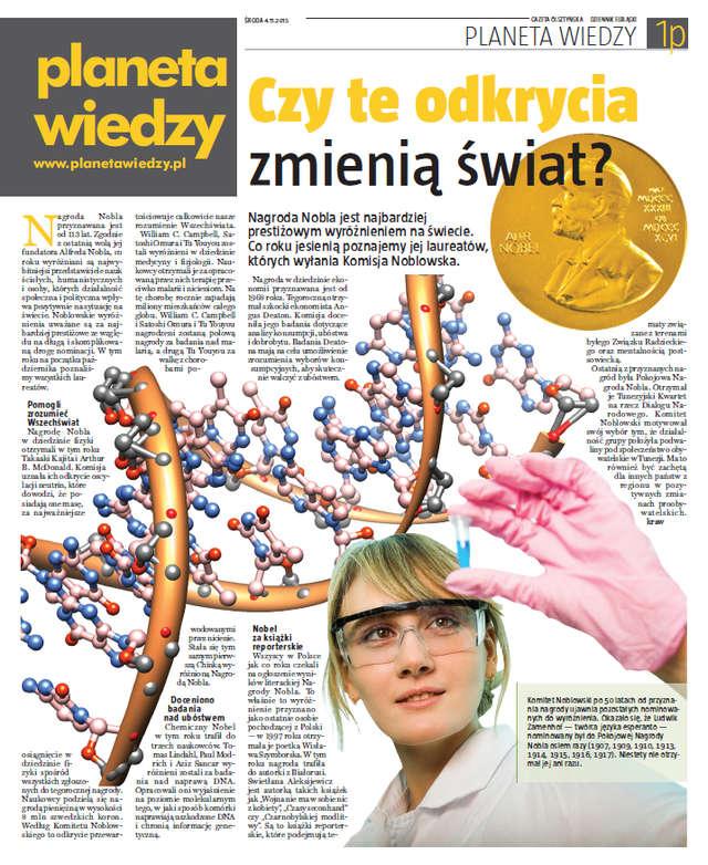 Planeta Wiedzy - pobierz wydanie listopadowe - full image