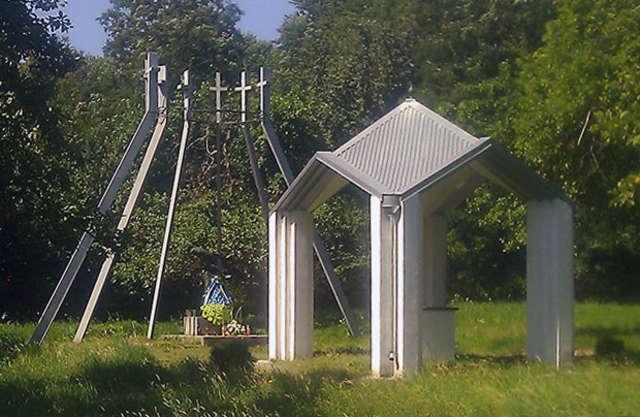 Pomnik w Salinie.  - full image