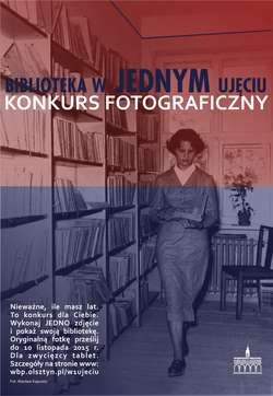 Biblioteka w jednym ujęciu — konkurs fotograficzny
