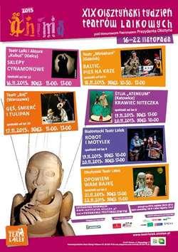 Olsztyński Tydzień Teatrów Lalkowych Anima 2015