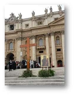 Krzyż Młodych i ikona Matki Bożej - Symbole Światowych Dni Młodzieży