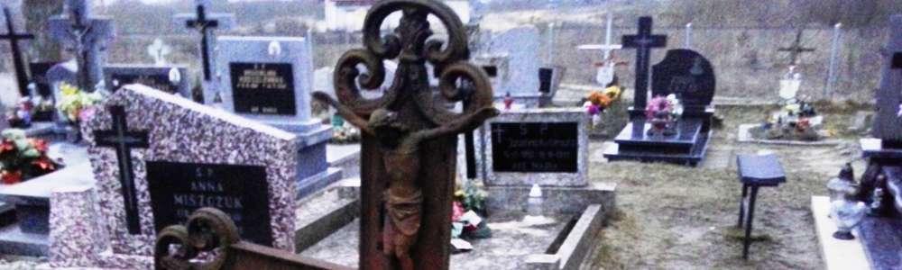 Cmentarze też w końcu umierają