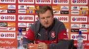 Trener Czechów o meczu z Polską