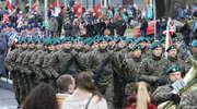 Święto Niepodległości 2015 w Olsztynie. Defilada kompanii honorowych [FILM]