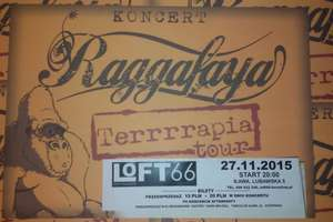 Koncert zespołu RAGGAFAYA
