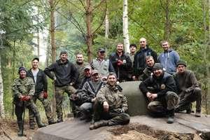 Akcja w schronach Trójkąta Lidzbarskiego. O porządek zadbali pasjonaci historii z grupy Guttstadt