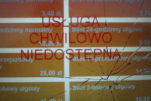 W Olsztynie wandale niszczą biletomaty. Tylko w ostatni weekend zdewastowano 3 urządzenia
