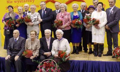 Jubilaci otrzymali medale i listy gratulacyjne
