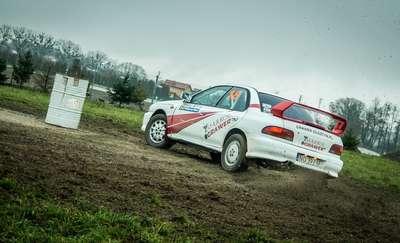 Markiewicz i Majewski najszybsi podczas Jesiennego Rallysprintu