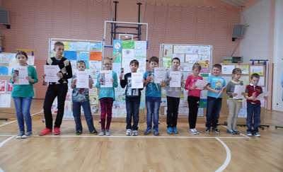 Obchody II Ogólnopolskiego Dnia Praw Dziecka w Szkole Podstawowej im. Kawalerów Orderu Uśmiechu w Rybnie