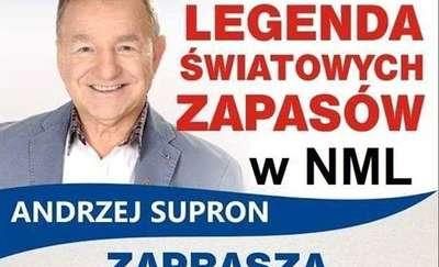 Andrzej Supron przyjeżdża do Nowego Miasta