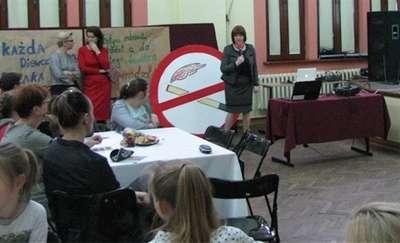 Światowy Dzień Rzucania Palenia w Gimnazjum nr 1 w Iławie