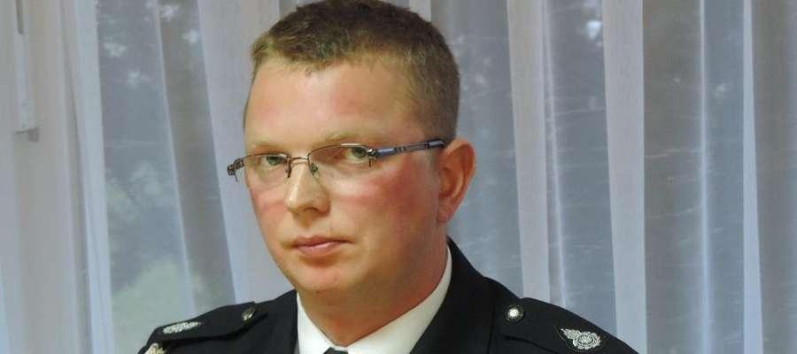 Paweł Rolnik - nowy komendant OSP w Sorkwitach