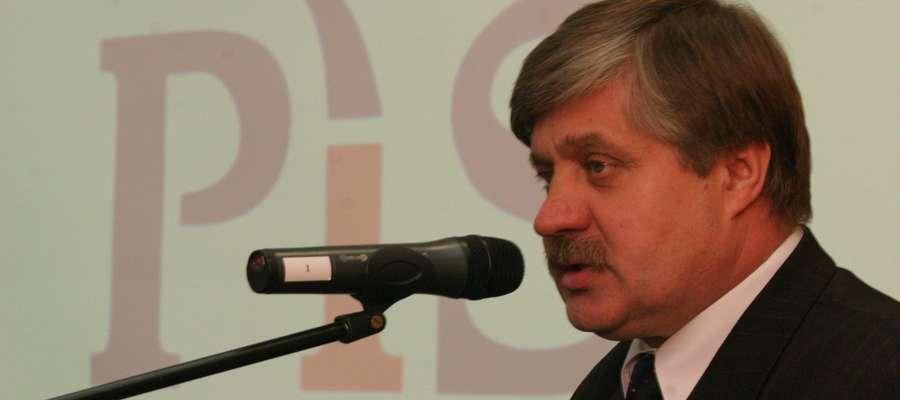 Krzysztof Jurgiel, minister Rolnictwa i Rozwoju Wsi.