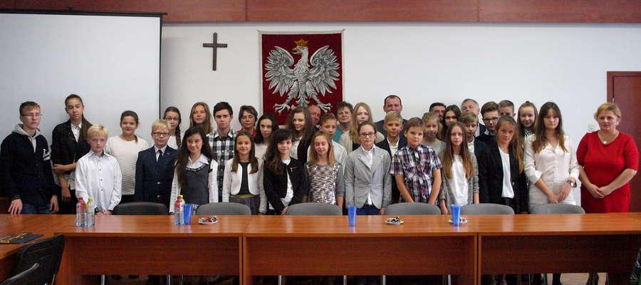 Najlepsi uczniowie szkół podstawowych z gminy Żuromin