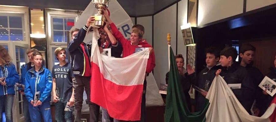 Polski team świętuje berliński sukces
