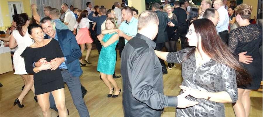 Jak widać, uczestnicy imprezy dobrze się bawili