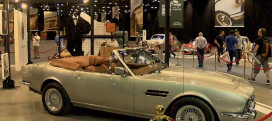 Auta z hollywoodzkich filmów na targach w Dubaju