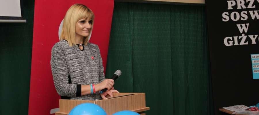 Aneta Furmaniak, założycielka Klubu JiM w Giżycku
