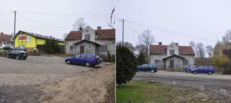 Parking został oddany do użytku po koniec października.