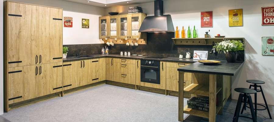 Klasyczna Kuchnia Z Drewna Dom