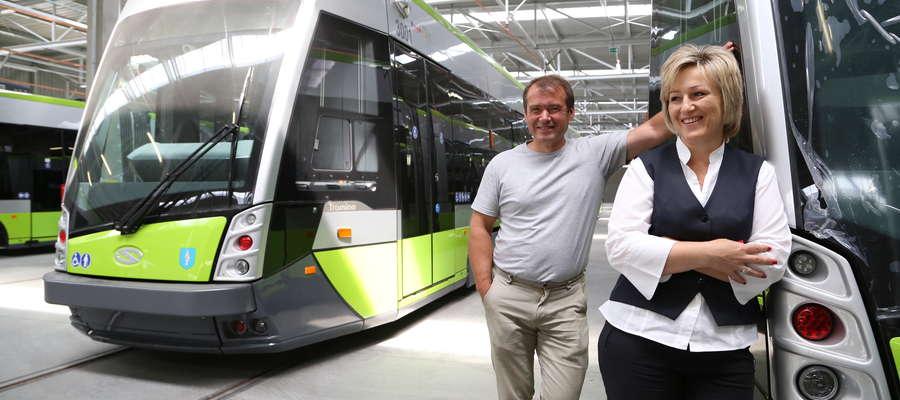 Piotr Romaniuk jest jednym z 38 olsztyńskich motorniczych. Ma już za sobą ok. 20 godzin szkoleń za sterami tramwaju
